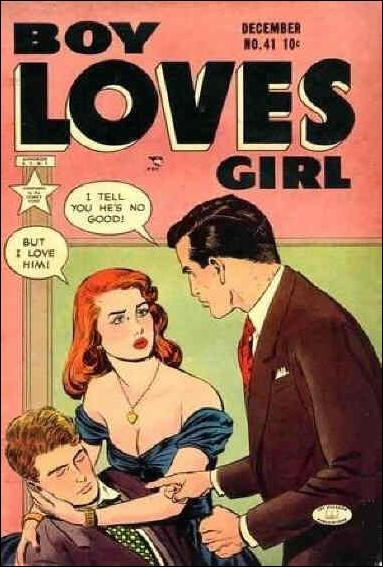 Boy Loves Girl 41-A by Lev Gleason Productions