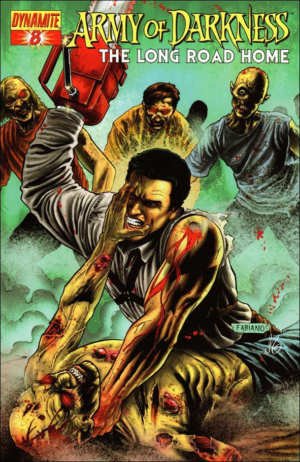 Army of Darkness: The Long Road Home 8-A by Dynamite Entertainment