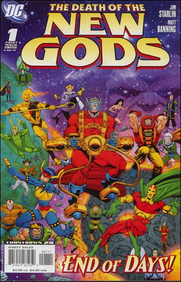 Death of the New Gods 1-A by DC