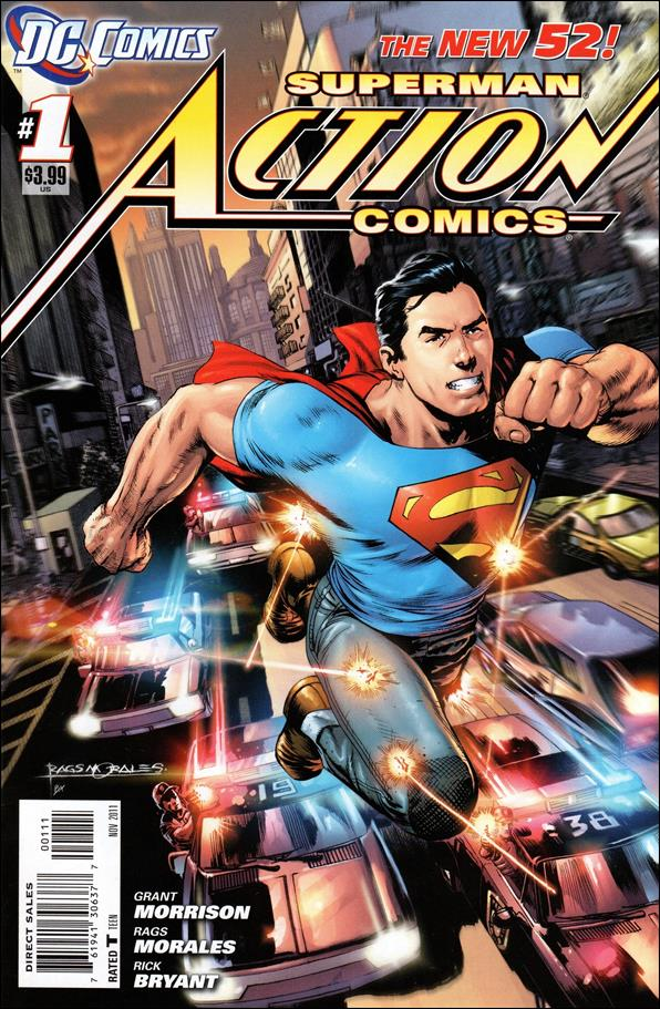 Action Comics (2011) 1-A by DC