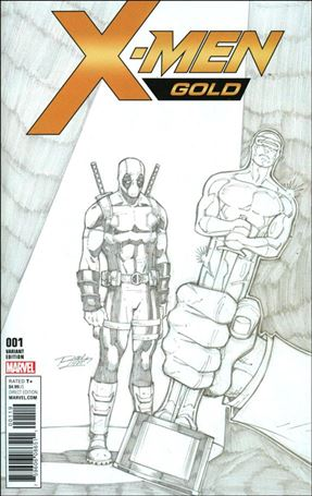 X-Men: Gold (2017) 1-J