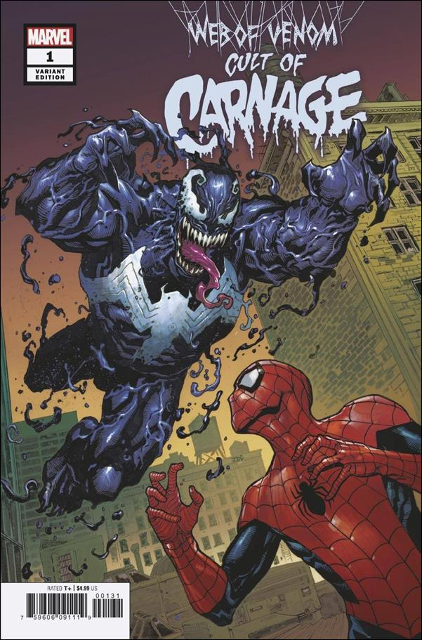 Web of Venom: Cult of Carnage 1-B by Marvel