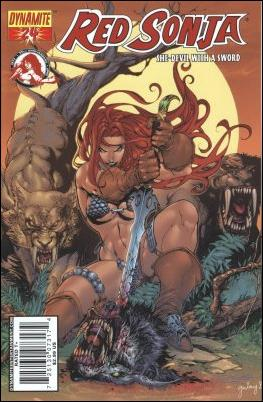 Red Sonja 24-D by Dynamite Entertainment