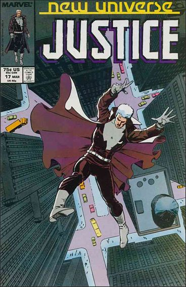 Justice (1986) 17-A by Marvel