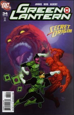 Green Lantern (2005) 34-A