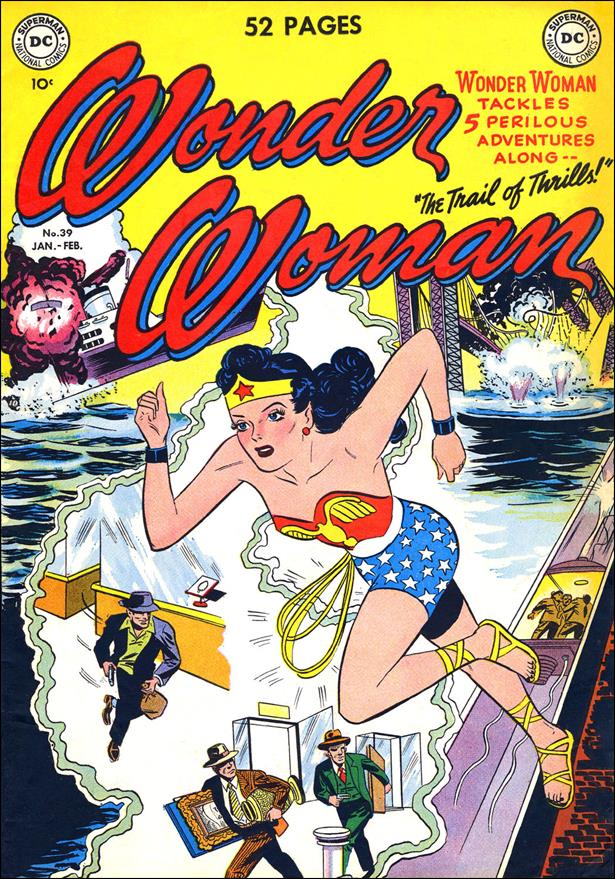 Wonder Woman (1942) 39-A by DC