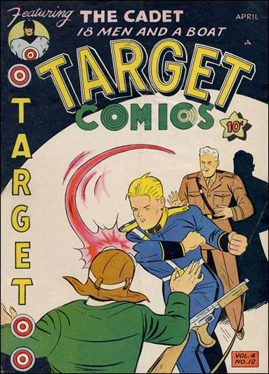 Target Comics (1943) 12-A by Novelty Press