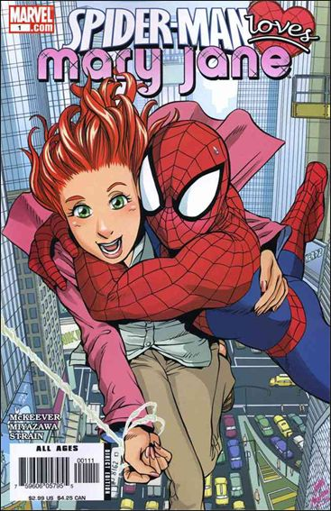 Spider-Man Loves Mary Jane 1-A by Marvel