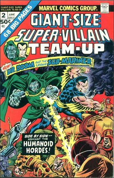 Giant-Size Super-Villain Team-Up 2-A by Marvel