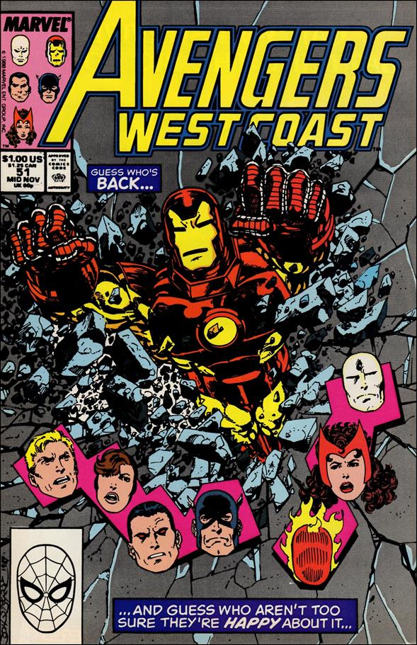 Avengers West Coast 51-A by Marvel