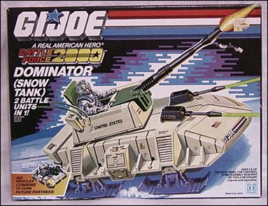 G.I. Joe: A Real American Hero (Battle Force 2000) Vehicles Dominator (Snow Tank) by Hasbro