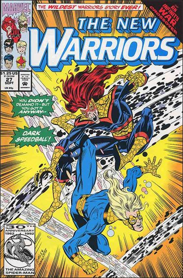 New Warriors (1990) 27-A by Marvel