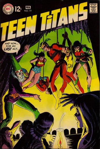 Teen Titans (1966) 19-A by DC