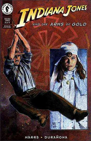 Indiana Jones and the Arms of Gold 4-A by Dark Horse