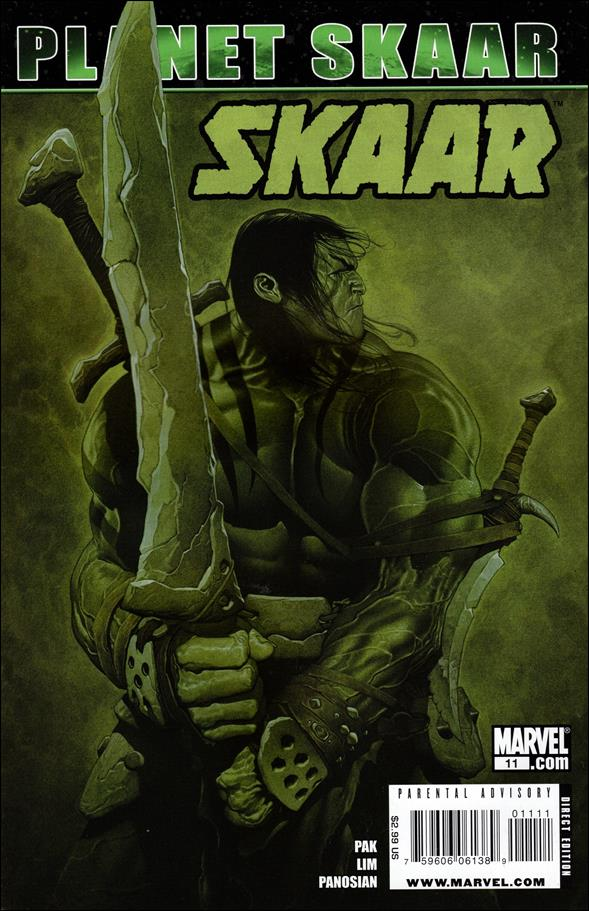 Skaar: Son of Hulk 11-A by Marvel