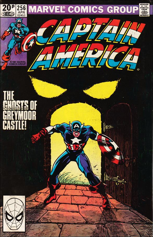 Captain America (1968) 256-B by Marvel
