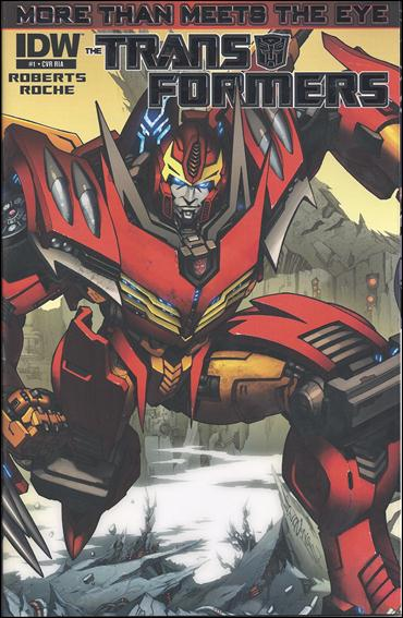 Transformers: More Than Meets the Eye (2012) 1-F by IDW