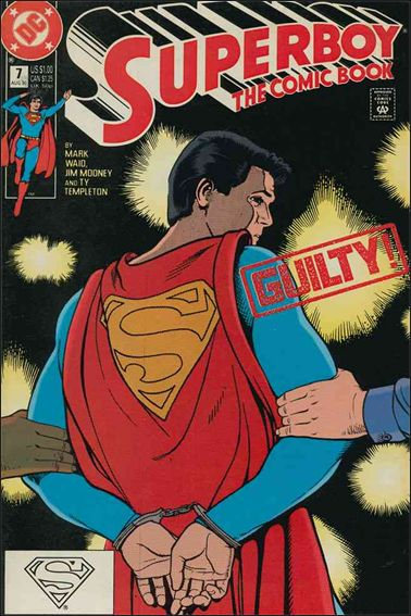 Superboy (1990) 7-A by DC