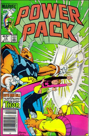 Power Pack (1984) 15-A by Marvel