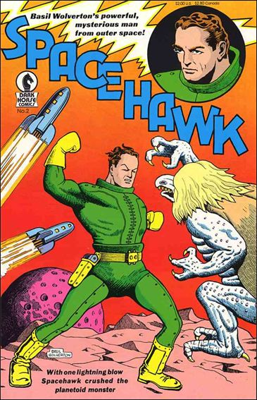Spacehawk (1993) 2-A by Dark Horse
