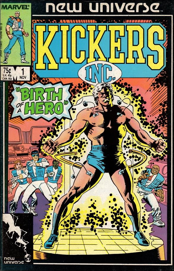 Kickers, Inc. 1-A by Marvel
