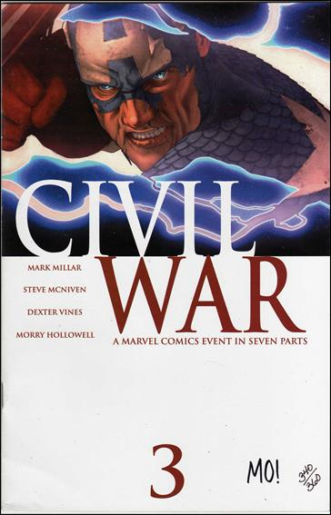 Civil War (2006) 3-G by Marvel