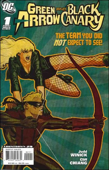 Green Arrow/Black Canary 1-A by DC