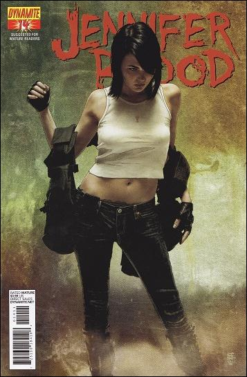 Jennifer Blood 14-A by Dynamite Entertainment