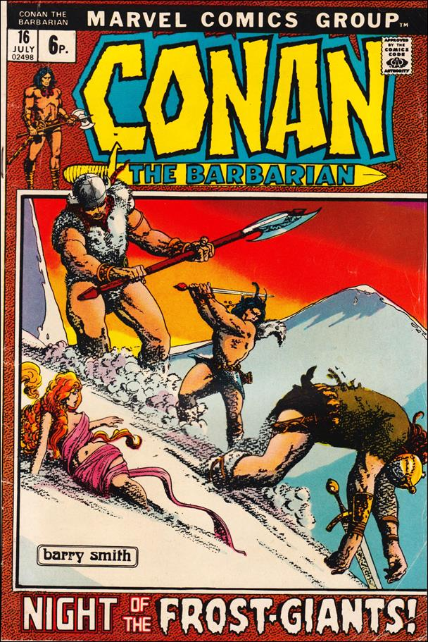 Conan the Barbarian (1970) 16-B by Marvel