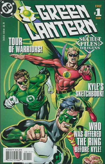 Green Lantern Secret Files 1-A by DC
