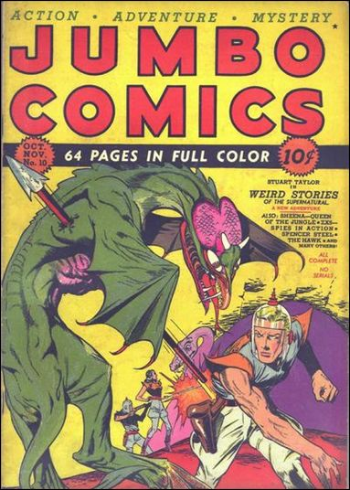 Jumbo Comics (1938) 10-A by Fiction House Magazines