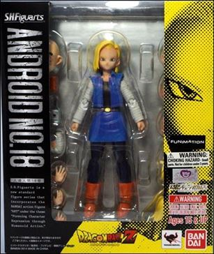 Dragon Ball Z (S.H.Figuarts) Android No. 18