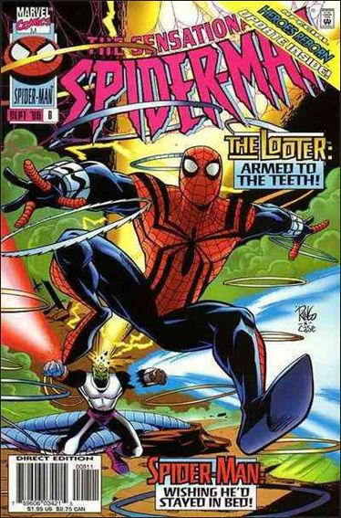 Sensational Spider-Man (1996) 8-A by Marvel