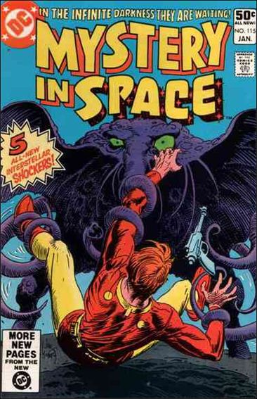Mystery in Space (1951) 115-A by DC