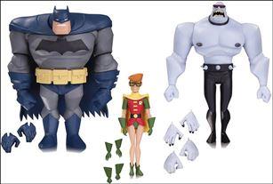 Batman Animated Batman, Robin & Mutant (NBA) (Loose)