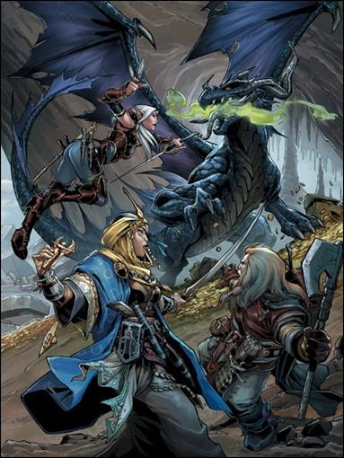 Pathfinder 8-D by Dynamite Entertainment
