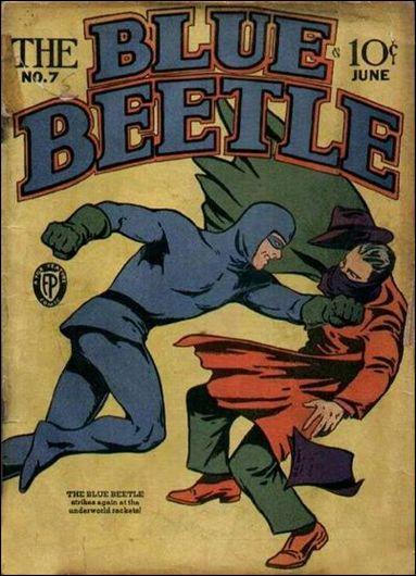 Blue Beetle (1939) 7-A by Fox