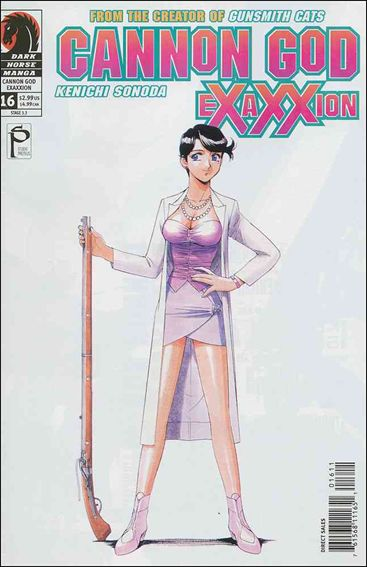 Cannon God Exaxxion 16-A by Dark Horse