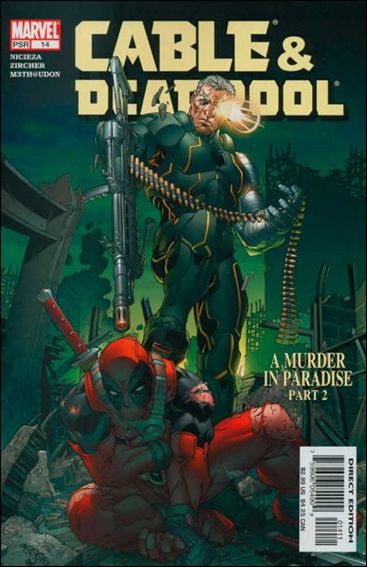 Cable &amp; Deadpool 14-A by Marvel