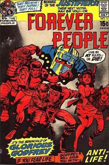 Forever People (1971) 3-A by DC