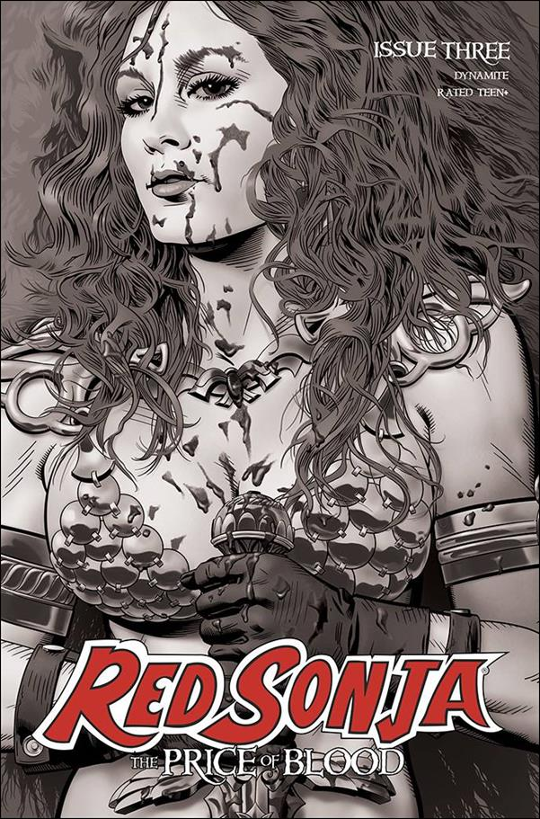 Red Sonja: Price of Blood 3-F by Dynamite Entertainment