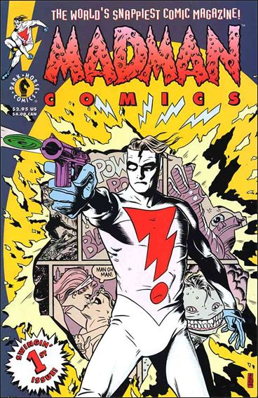 Madman Comics 1-A by Dark Horse