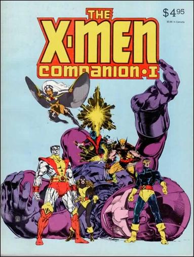 X-Men Companion 1-A by Fantagraphics
