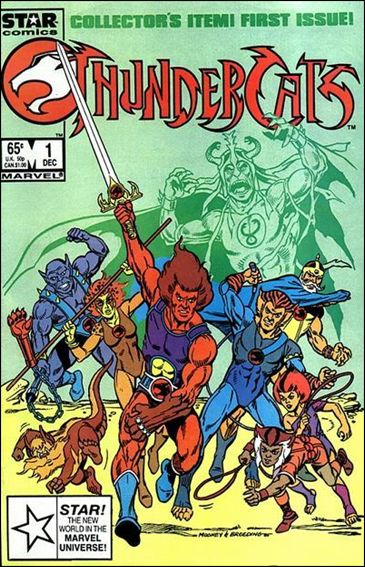 ThunderCats (1985) 1-A by Star