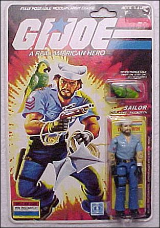 "G.I. Joe: A Real American Hero 3 3/4"" Basic Action Figures Shipwreck (Sailor) by Hasbro"