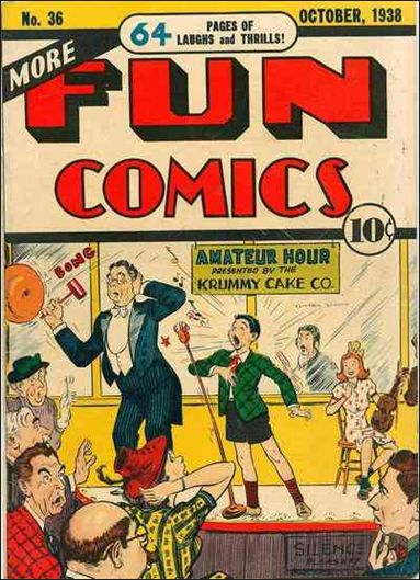 More Fun Comics 36-A by DC