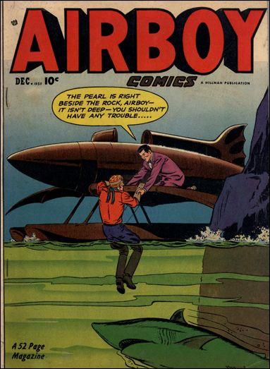 Airboy Comics (1950) 11-A by Hillman