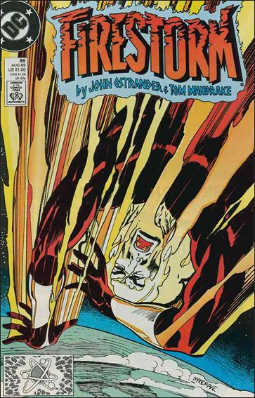 Firestorm The Nuclear Man (1987) 88-A by DC