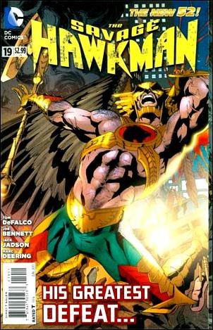 Savage Hawkman 19-A by DC