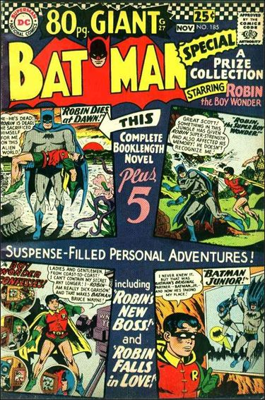 Batman (1940) 185-A by DC